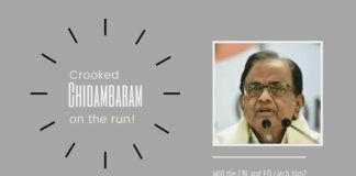 Chidambaram on the run from arrest by CBI and ED gives the appearance of guilty before even having a trial