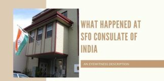 What happened at SFO consulate of India