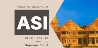 The Supreme Court bench came down heavily on the Muslim side for suggesting that the ASI report was merely an opinion
