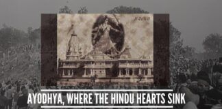 The neglect shown by successive governments since 1947 towards Ayodhya looks completely vicious. It looks as if Secularism was used against Hindus to deny them access to their faith
