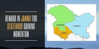 Demand in Jammu for statehood gaining momentum
