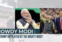 Even a hostile BBC had to admit that in the rally, Modi was the superstar, not Trump!