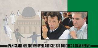 Pakistani meltdown over Article 370 touches a raw nerve