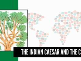 The Indian Caesar and the City