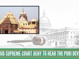 Supreme Court failed to realise the magnitude of its denial to hear the Devotee.