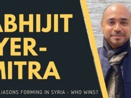 As soon as the US withdrew its troops from the Kurds-occupied areas, the Russians have moved in, after allowing the Turks to commit mayhem for a few days. Is this a win for the Russians or the US? A nuanced conversation with Abhijit Iyer-Mitra