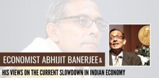 Economist Abhijit Banerjee and his views on the current slowdown in Indian economy