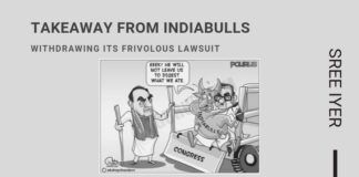 A brazen attempt by Indiabulls to restrain some from writing about them has imploded and shows the hubris of some who think they can get away with anything