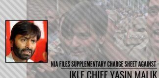 NIA files supplementary charge sheet against JKLF Chief Yasin Malik, others in terror funding case