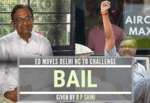 ED challenges Saini's grant of anticipatory bail to Chidambarams in the Aircel-Maxis scam