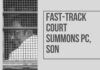 The Fast-track court established to try members of parliament for graft has issued summons to the accused Chidambaram and others in the INX-Media case