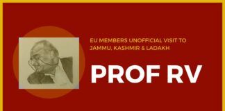 A different perspective from Prof R Vaidyanathan on how he sees the visit of EU members to Jammu, Kashmir and Ladakh.