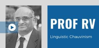 Tamil Pride, Tamil is the most ancient language and pithy statements actually hurt those who live in Tamil Nadu because in an increasingly competitive society, having multiple language skills is a strength, in this in-depth discussion with Prof. RV.