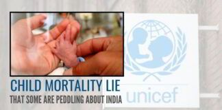The Child Mortality lie that some are peddling about India
