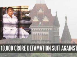 Rs 10,000 crore defamation suit against PC