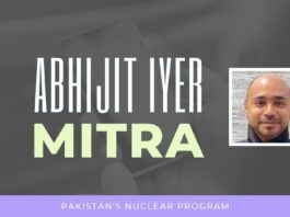 The tail pond on one of Pakistan's reactors has grown significantly recently and this means that they are making rapid strides in enriching Uranium and perhaps Plutonium. A nation in disarray but... A must watch!