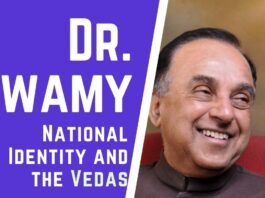 How the world is evolving around two entities - Nationalism and Identity and what is the Identity of India? A must watch speech by Dr. Swamy delivered on November 1, 2019, at Port of Spain, Trinidad.