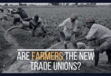 Are Farmers the new trade unions?