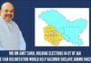 Mr HM Amit Shah, holding elections in UT of J&K before fair delimitation would help Kashmir enslave Jammu once again