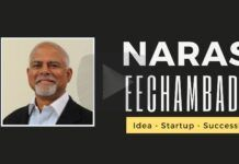 In an engaging conversation, Narasimhan Eechambadi describes how he was inspired by his diverse neighbors growing up in Mumbai. As a student, he made extra income, selling calculators! Do not miss this video!