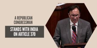 Olson reminded the US House of Representatives about the overwhelming majority with which the Indian Parliament approved the abrogation of Article 370 and expressed hope that this will be a step for peace in Kashmir