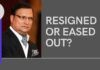 The resignation of Rajat Sharma is because he was about to be voted out, accuse the detractors