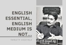 Andhra Government should say YES to English and NO to English Medium