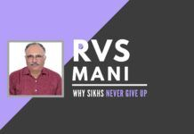 RVS Mani shares his experiences of meeting Sikhs in Delhi and suburbs and their struggle to put their lives back together after the 1984 incident. Many orphaned have now stabilized themselves and or thriving.