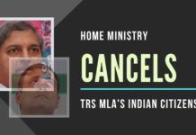 The action of the Home Ministry to cancel the Indian citizenship of a sitting MLA will send shivers down the spine of Rahul Gandhi