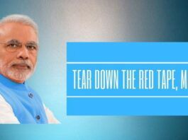 Tear down the red tape, Mr. Modi!