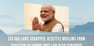 153 J&K laws scrapped, Resettle Muslims from Pakistan in Jammu 1982 law also scrapped