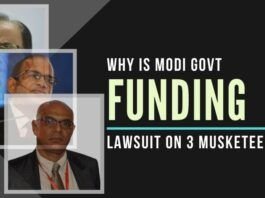 The PM and the FM are being taken for a ride in funding the costs of a private case involving IAS bureaucrats