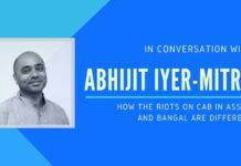 In-depth look at the issues in Assam and Bangal and why the two riots are different. Abhijit Iyer-Mitra also touches upon what is happening in the universities...