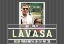 It is time for the former EC Ashok Lavasa to face the music on controversial directorships