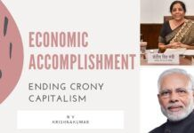 It is certainly the end of crony capitalism in India and conduct of business as we know it.