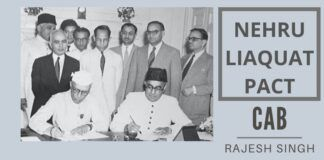 The Nehru-Liaquat pact of 1950. This agreement between Prime Ministers Jawaharlal Nehru and Liaquat Ali Khan of India and Pakistan respectively promised to ensure the protection of minorities in their respective countries.