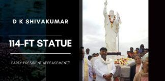 Will the attempt of Shivakumar to build a 114-ft statue of Jesus result in more copycat attempts to impress INC Party supremo?