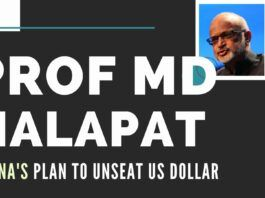 The latest US-China trade war has made China make several moves. Prof. M D Nalapat dissects the various pulls and pressures and the reason China is pushing Blockchain-based technologies in currency & buying up gold to try and unseat the US Dollar. A compelling video must watch!