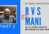 In Part 2, RVS Mani relates the saga of Col Purohit, Malegaon and Sadhvi Pragya and why justice is getting delayed. Some bureaucrats who are doing the bidding of the UPA are also outed. A must watch!