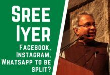 Sree Iyer weighs in on the US Federal Trade Commission possibly going to a Court to break up Facebook into three parts - Facebook, Instagram, and WhatsApp, even as the company tries to integrate the three. FTC thinks it has a strong case as it believes that the combined entity violates antitrust laws.