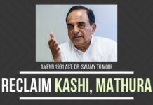 Swamy lays out a persuasive argument on why the 1991 Places of Worship Act must be amended, in his letter to PM Modi