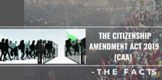 The Citizen Amendment Act 2019 (CAA) – The facts