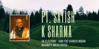 A detailed analysis of the recently concluded elections in the United Kingdom in 6 constituencies where the British Indians are in large numbers and the future of Scotland and Ireland, and Brexit.