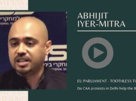 In an era of bi-lateral relations, the CAA resolution by the EU parliament is a non-issues, says Abhijit Iyer-Mitra. Does the Modi bashing by the Western media consolidate the Hindu vote? What is the future of AAP?
