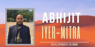An in-depth discussion with Abhijit Iyer-Mitra on Trump reneging on the Iran deal to the latest developments and what Iran contemplates next