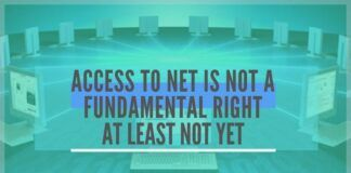 Critics of the government have hailed the court for having mandated that access to Internet services is a fundamental right available to the people under the Constitution. They are wrong on both counts.