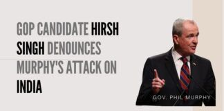 Hirsh Singh, a 34-year-old Indian American, has made waves with his conservative Republican platform. An Atlantic City native, Singh is one of Governor Murphy's most prominent and vocal critics.
