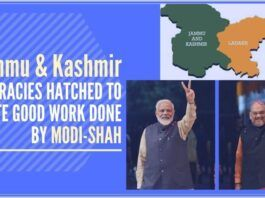 October 31, 2019 was a historic day as such a change in the political status of Jammu & Kashmir which was a national requirement and need of the time because it enabled the Union Government to run the administration in the state.