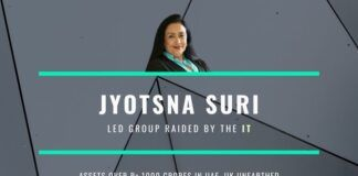 The Income Tax action against Jyotsna Suri, known to be close to the former Finance Minister Jaitley would strike fear in the hearts of many in Delhi and Mumbai