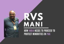 The abduction of a Sikh girl and then the return and the subsequent riots led my a Maulana are cause for concern for the minorities trapped in Pakistan, says RVS Mani. An in-depth look at what can be done by India to alleviate this vexing issue.